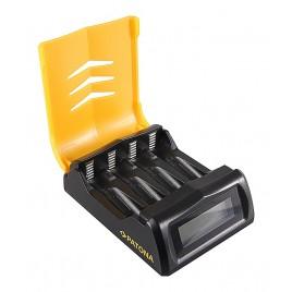 PATONA snellader AA / AAA-batterijen met LCD-scherm
