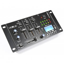 Vexus STM3030 4-Kanaals Mixer USB/MP3/Bluetooth/REC