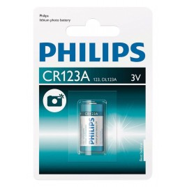Philips CR123A Lithium Foto Batterij