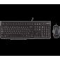 Logitech USB toetsenbord + muis set