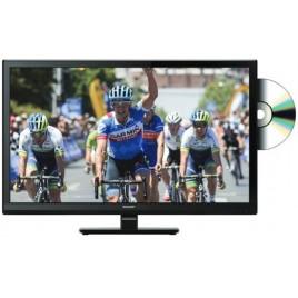 """Sharp 24"""" LED TV DVD speler"""