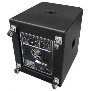 "PD 18"" Subwoofer + 2x 10"" Satelliet speakers, 3600w"