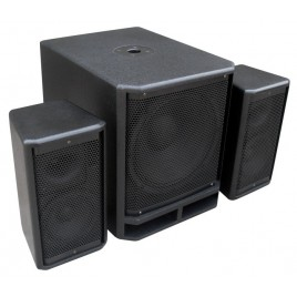 "PD 18"" Subwoofer + 2x 10"" Satelliet speakers, 3600w"