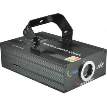 Professioneel programmeerbare RGB Laser Show
