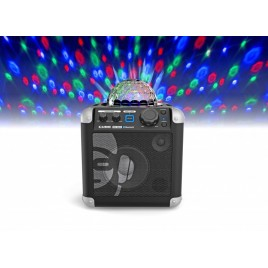 iDance Audio Sing Cube BC100 Bluetooth Part Systeem met Ingebouwde Lichtspositie