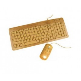 Bamboo USB Muis en Keyboard Set