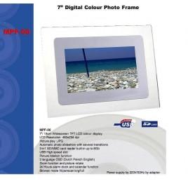 """Marquant 7"""" Digitaal fotoframe met USB"""