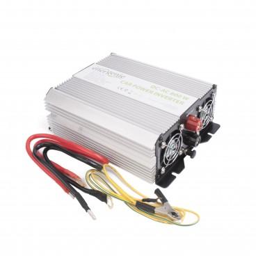 Omvormer van 12 volt naar 220 volt, 800 watt