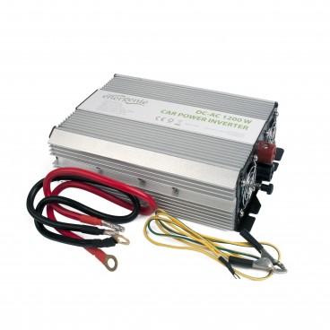 Omvormer van 12 volt naar 220 volt, 1200 watt