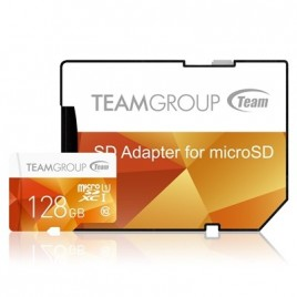 Team 128gb MicroSDXC kaart