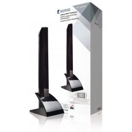 König Binnen DVB-T/T2 - DAB+ Antenne 15 dB VHF / UHF