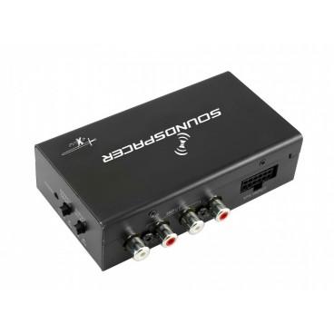 Excalibur Speaker naar lijn Omvormer & Sound processor