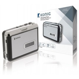 Konig Cassette - USB MP3 Converter