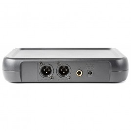 Vonyx WM73C 2-Kanaals UHF Draadloos Microfoonsysteem Combi met Handheld, Bodypack en Display