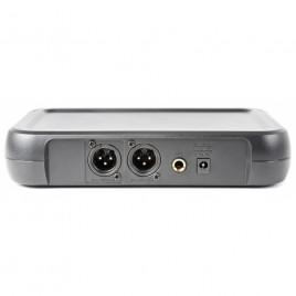 Vonyx WM73H 2-Kanaals UHF Draadloos Microfoonsysteem met 2x Bodypacks en Display