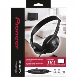 Pioneer SE-A611TV Lichte on-ear tv-hoofdtelefoon met volumebediening