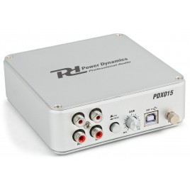 power dynamics PDX015 USB PHONO VOORVERSTEKER MET SOFTWARE
