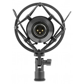 Vonyx CM400B Studio Condensator Microfoon Zwart/Goud
