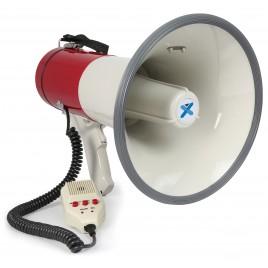 Vonyx MEG050 Megafoon 50W met Record, Sirene en Microfoon