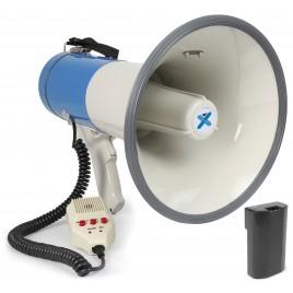 Vonyx MEG065 Megafoon 65W Met USB, SD, Accu, Record, Sirene en Microfoon