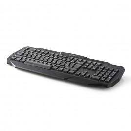 Nedis Bedraad Gamingtoetsenbord | USB| QWERTY Indeling | Zwart