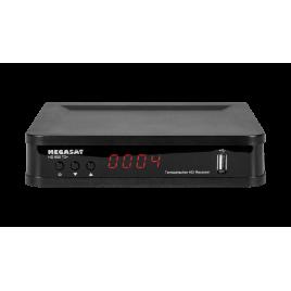Megasat HD 650 T2 + DVB-T (H.264) en DVB-T2 (H.265 / HEVC) ontvanger
