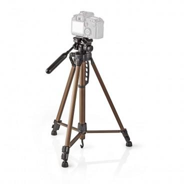 Nedis Statief   Pan & Tilt   Max. 3,5 kg   161 cm   Zwart / zilver