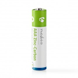 Nedis Zink-Koolstofbatterij AAA | 1,5 V | 4 Stuks