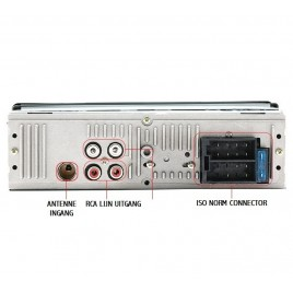Autoradio met Bluetooth, USB-MP3 Speler