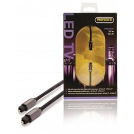 Profigold Optisch Digitale Audiokabel TosLink Male - TosLink Male 5.0 m