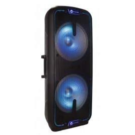 "N-Gear The Flash 3010 2x15"" Portable Bluetooth Speaker"