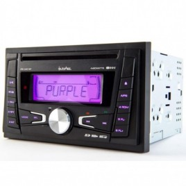 Inphase Dubbel DIN CD Autoradio, USB, Bluetooth, 4x60w