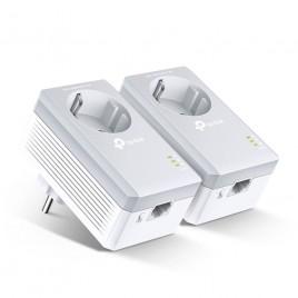 Tp-Link AV600 Powerline adapter met geïntegreerd stopcontact startset