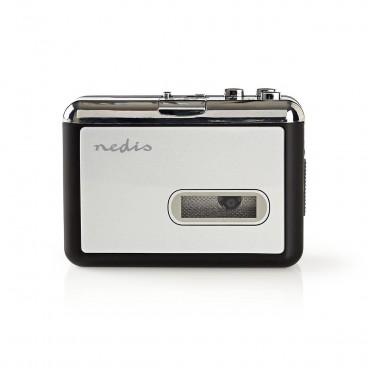 Nedis Draagbare USB-convertor voor Cassette naar MP3 | met USB-kabel en software
