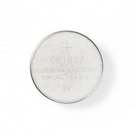 Nedis lithium knoopcel-batterij CR1632 | 3 V | 5 stuks | Blister