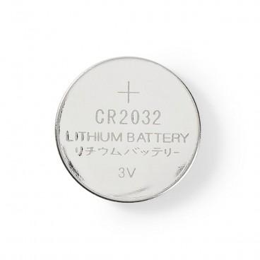 Nedis Lithium knoopcel-batterij CR2032   3 V   5 stuks   Blister