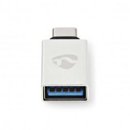 Nedis USB 3.0 Kabel voor Synchroniseren, Opladen en AV-Ondersteuning | Verguld | USB C™ Male naar USB A Female