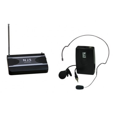 New Jersey Sound 174,5 MHz VHF Tie Clip Radio Microfoon Systeem