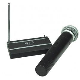 New Jersey Sound 174,5 MHz VHF-handheld Radio Microfoon Systeem