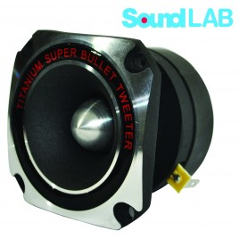 Soundlab 75W RMS 8 OHM Titanium Bullet Super Tweeter