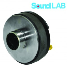 "Soundlab 100W RMS 8 OHM Titanium opschroefbare compressiedriver met 1 ""keel  Hoogwaardige schroefbare compressiedriver"