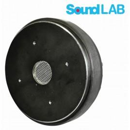 """SoundLab 250W RMS 8 OHM Titanium geschroefde compressiedriver met 1 """"keel  Titanium geschroefde compressiedriver"""