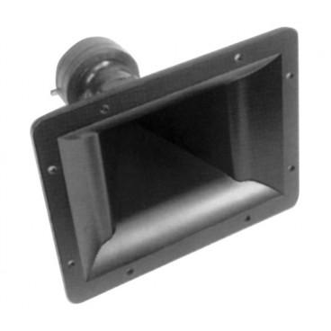 Soundlab Piezo Horn 8x6' Grote piezo-hoorn met krachtige handlingmogelijkheden.