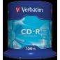 Verbatim 100 Pack Spindle CD-R