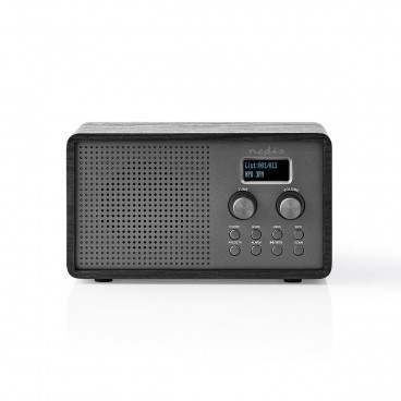 DAB+ Radio, FM, Klok & Wekkerfunctie