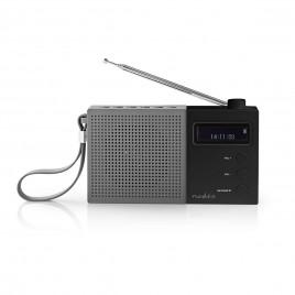 Nedis DAB+ Radio met FM & Wekkerfunctie