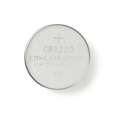Lithium knoopcel-batterij CR1220 | 3V | 5 stuks | Blister