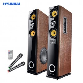 Hyundai HY318-66 3 weg actieve bass reflex luidspreker set