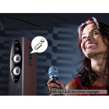 Fenda T-90x 4-weg 2.0 bluetooth / NFC Hi-Fi speakers met optisch digitale ingang