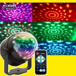 Led Party Discolamp met en 3 × 1W RGB lichten